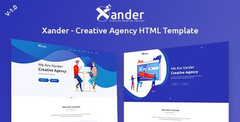 Xander — Creative Agency HTML Template | Stylelib