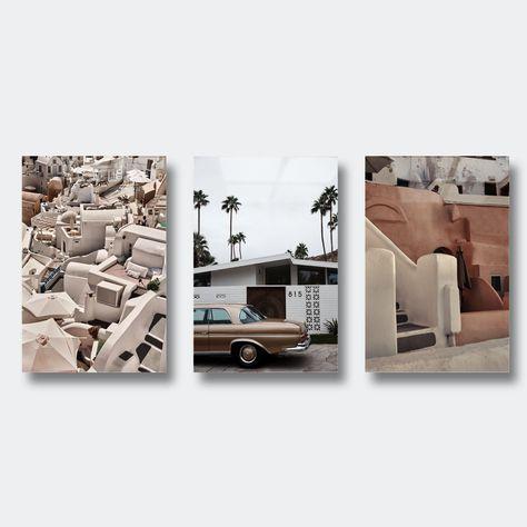 Santorini Bundle (Save 30%) - Acrylic / M - 20x30