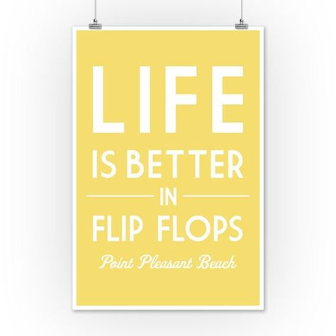 Life is Better on the Island Simply Said Art Posters, Wood /& Metal Signs