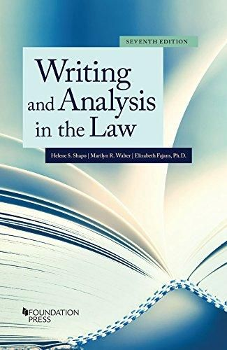 Download Pdf Writing And Analysis In The Law Coursebook Full Download Get Here Https Bigbookfor100 Blogspot Com Ebook Freewriting Free Ebooks Download
