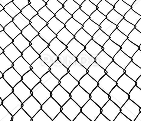 Chainlink Fence Stock Illustration Ad Fence Chainlink Illustration Stock Chain Link Fence Illustration Fence
