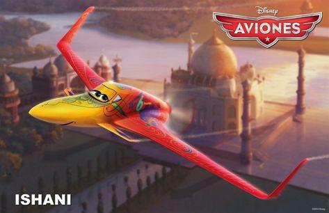 Conoce a los personajes de la película para niños 'Aviones'. Ishani
