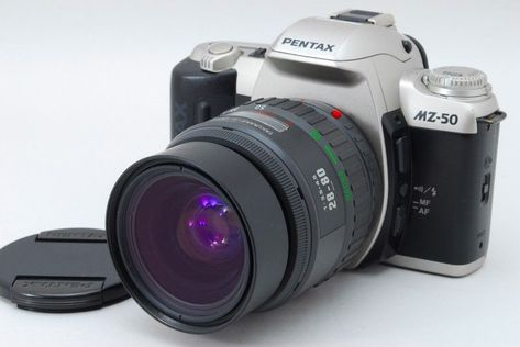 Very Good Pentax Mz 50 35mm Slr W Takumar F Zoom 28 80mm F 3 5