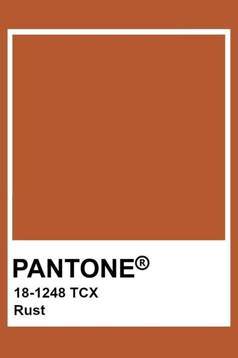 Rouille Pantone  #pantone #rouille