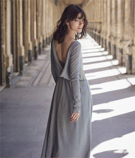 Femme Petit Manches Longue Agnès À Longues Robe X Bateau Marie 5RwSqXW