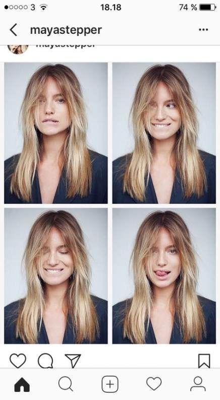 30++ Curtain bangs shoulder length hair trends