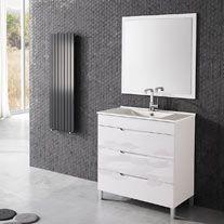 Mueble Baño Quadro Blanco 80 X 45 Cm Leroy Merlin Muebles De Lavabo Muebles De Baño Muebles