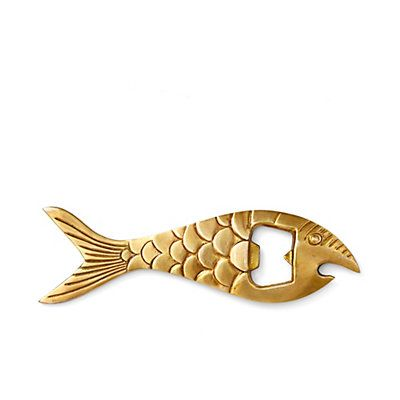 Fish Brass Bottle Opener