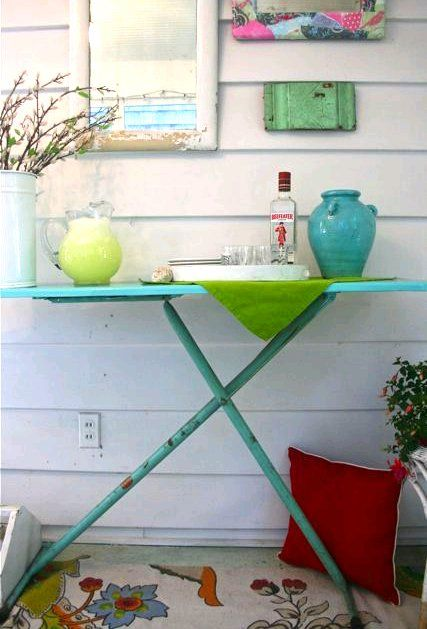 Upcycled Ironing Boards New Uses For Old Ironing Boards Old