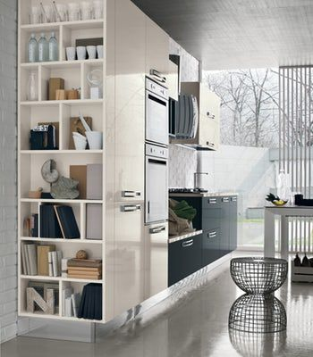 Italian contemporary modern kitchen design Stosa Milly ...