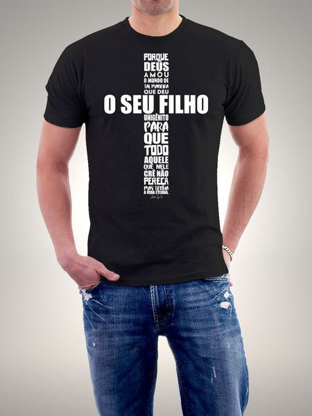 d797eb04d9 Camiseta Porque Deus Amou