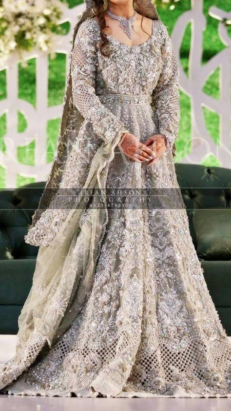 Asian Indian Bridal Dress - Asian Indian Wedding Party Dresses Online at Nameera by Farooq