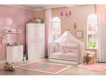 Babyzimmer Komplett Set 5 Teilig Madchenzimmer Weiss Selena Babyzimmer Dekor Zimmer Babyzimmer Komplett Set