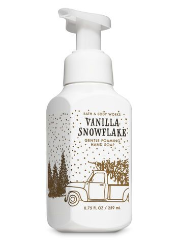 Vanilla Snowflake Gentle Foaming Hand Soap Bath And Body Works