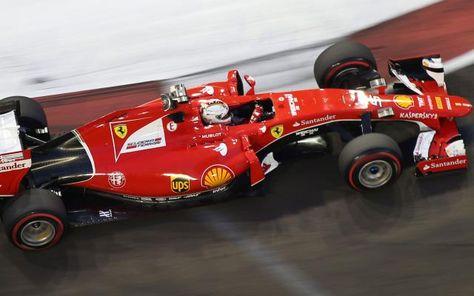 Sebastian Vettel décroche la pole position au Grand Prix de Singapour -                  L'Allemand Sebastian Vettel (Ferrari) partira en pole position dimanche soir pour le Grand Prix de Singapour de Formule 1, à côté de l'Australien Daniel Ricciardo (Red Bull-Renault). Les Mercedes d'Hamilton et Rosberg seront en 3e ligne.  http://si.rosselcdn.net/sites/default/files/imagecache/flowpublish_preset/2015/09/19/695400642_B976579268Z.1_2015
