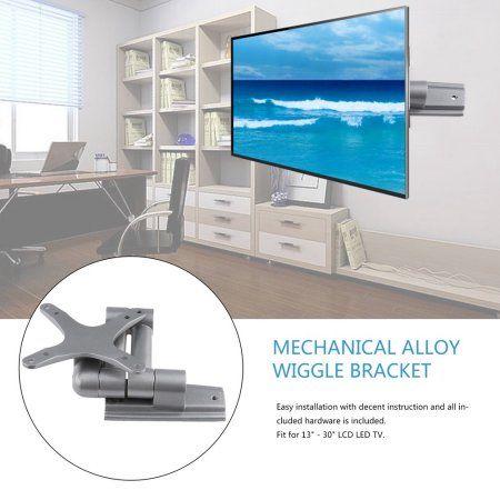 2017 New Aluminium Alloy 360 Degree Rotated Tv Wall Mount Bracket For 13 30 Inch Tv Gray Tv Wall Mount Bracket Wall Mounted Tv Wall Mount Bracket