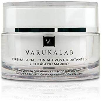 Crema Facial Hidratante Antiarrugas Para Dia Noche Con Vitamina C