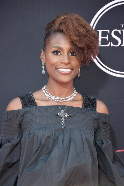 Actor Issa Rae attends the 2017 ESPYS.