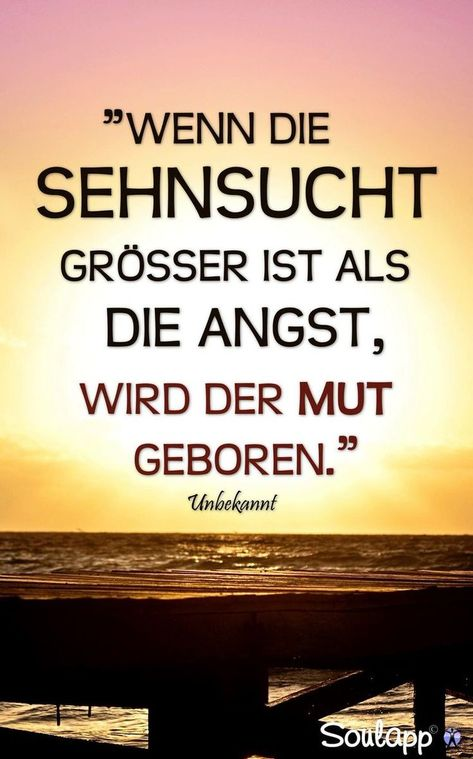Wenn die Sehnsucht größer ist als die Angst, wird der Mut geboren.  #traumhawaii  www.traumhawaii.de
