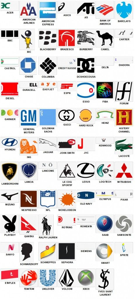 Logo Quiz Level 5 Answers solutions cheats hint | Logos | Autos y
