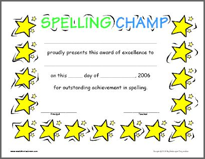Certificates For Teachers English and Language Awards and - printable certificates of achievement