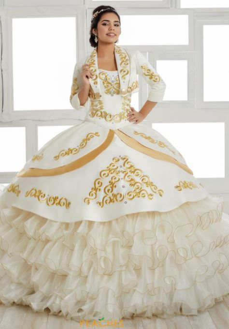 Tiffany Quinceanera Beaded Ball Gown 24018