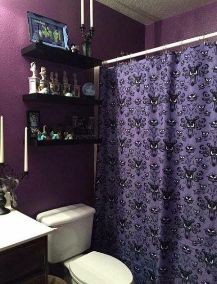 21 Trendy Bath Room Dark Purple Shower Curtains Bath Gothic