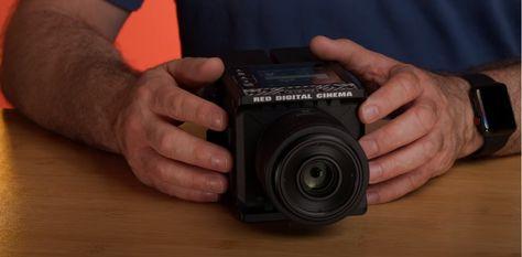 Unboxing the crazy small RED Komodo cinema camera