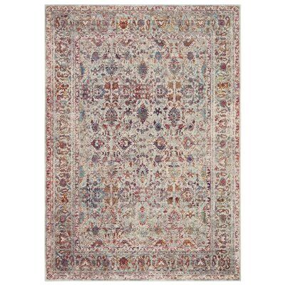 Charlton Home Bosse Gray Red Area Rug In 2020 Area Rugs Hippie Home Decor Classic Carpets