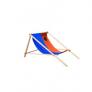 Liegestuhl Orange Blau Beach Mat Outdoor Blanket Outdoor