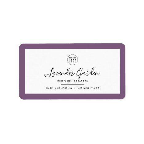 Add Logo and Editable Border Color Product Labels | Zazzle.com