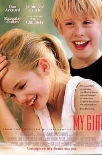 """My Girl """"Thomas Jay can't see without his glasses!"""" Oh what a tearjerker! Will watch with my kids someday. My Girl Film, See Movie, Movie List, Epic Movie, Film Music Books, Music Tv, Dirty Dancing, Bon Film, Films Cinema"""