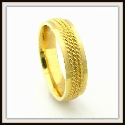 Ebay Ad 10 Kt Solid Yellow Gold Hand Made Wedding Band For Men And Ladies Ht 0009 In 2020 Mens Wedding Bands Anniversary Bands Gold Hands