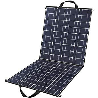 100 Watts 12 Volts Portable Solar Panel Kit Charger Foldable Flexible Monocrystalline Solar Charger With Mc Solar Panels Portable Solar Panels Solar Panel Kits