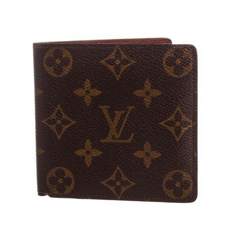 Louis Vuitton Monogram Canvas Leather Marco Bifold Wallet Ca1911 Pre Owned Louis Vuitton Wallet Louis Vuitton Monogram Louis Vuitton Purse