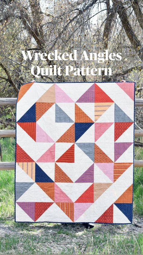 Wrecked Angles Quilt Pattern