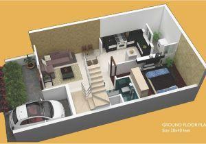 20 40 House Plan 2bhk 40 X 20 House Plans In 2020 20x40 House Plans Duplex House Plans House Plans