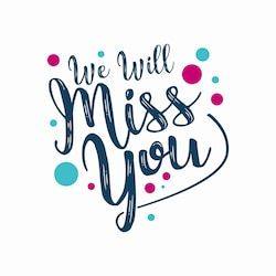 Stock Image Miscellaneous Miss You Cards Farewell Cards Goodbye Cards