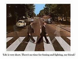 Image Result For Beatles Crossing Abbey Road John And George Faded Beatles Lyrics Beatles Abbey Road The Beatles