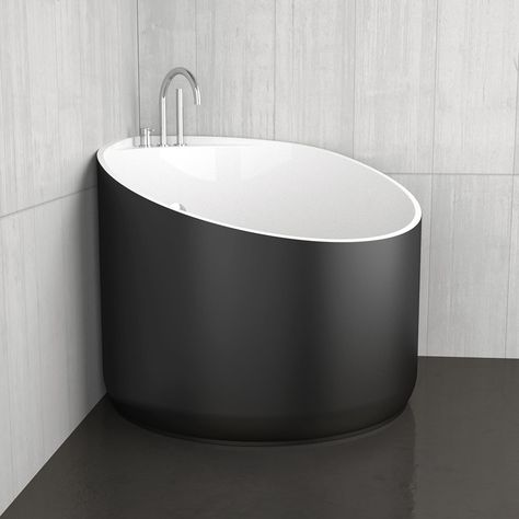 Mini bathtubs and mini bathtub shower combos go a long way to mitigating the problem of a small bathrooms. If your bathroom fixtures are spectacular, who notices how much space...
