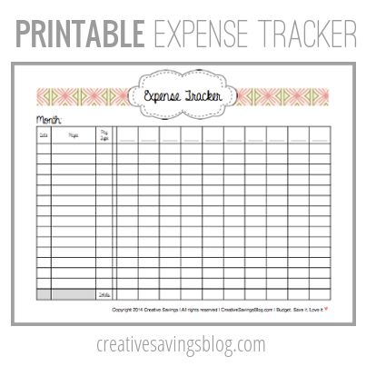 How to Track Your Income Budgeting, Learning and Organizations - business expense spreadsheet template