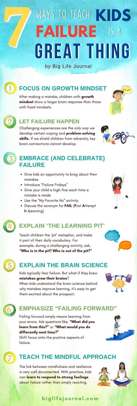 7 Ways to Teach Kids Failure Is a Great Thing