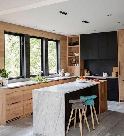 Coiled Counter Stool Minimal Kitchen Design Teal Kitchen
