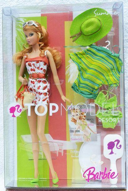 Top Model Resort Summer Model Muse Barbies Barbie Collector Dolls Barbie Top Barbie Collector