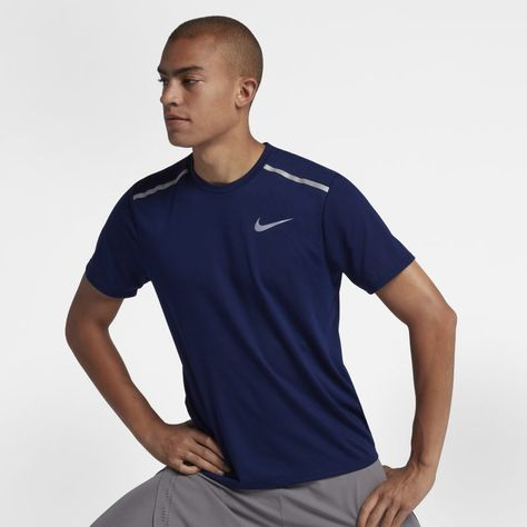 Dri FIT Rise 365 Men's Short Sleeve Running Top. GB