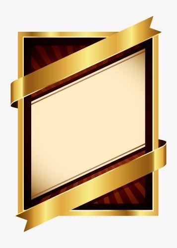 Luxury Three Dimensional Gold Frame High Grade Luxury