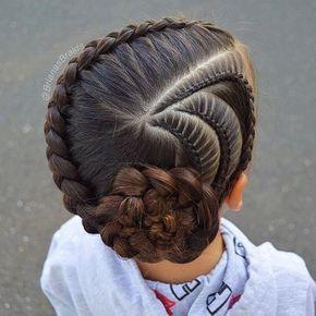 Pin By Dija On Kiểu Toc Dai Pretty Hairstyles Girl Haircuts Little Girl Hairstyles