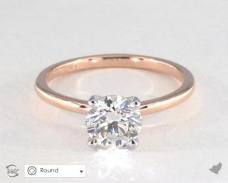lauren conrads engagement ring get the look engagement ring and rose gold engagement - Lauren Conrad Wedding Ring