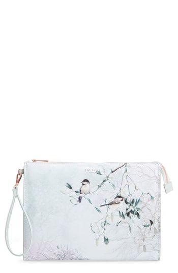94b43fe90 New Ted Baker London Karlie Faux Leather Wristlet Pouch. Women's Fashion  Handbags [$75]allfashiondress