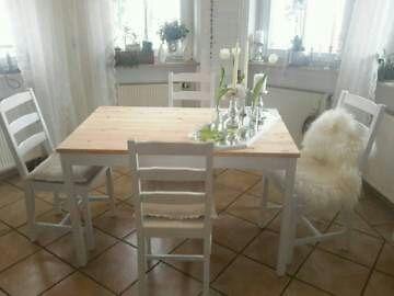 Tisch Und 4 Stühle Essgruppe Esstisch In Baden